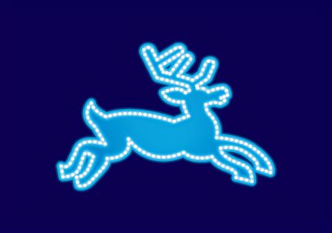 霓虹標誌·馴鹿
