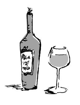 Wine (monochrome)