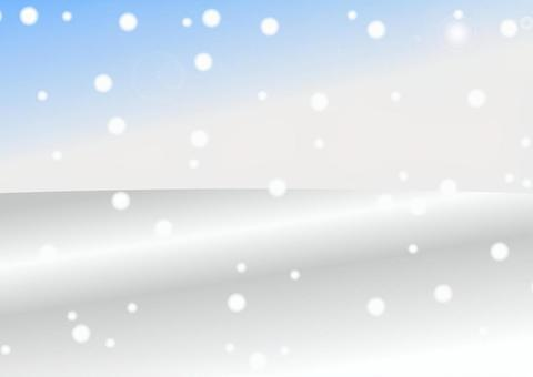 冬天背景/ Winter_Back