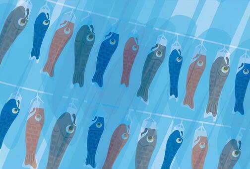 鯉魚飄帶鯉魚旗