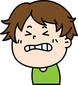 Male facial expression icon