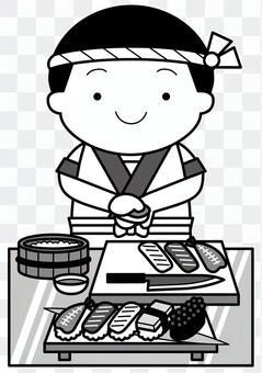 壽司廚師2C