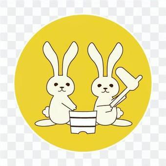 月光(月亮和兔子)