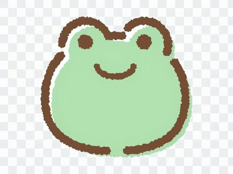 青蛙face_hand繪製