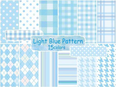 背景圖案淺藍色複選條紋點