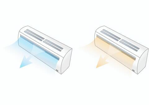 エアコン 冷房暖房