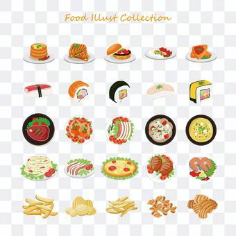 食べ物イラストコレクション