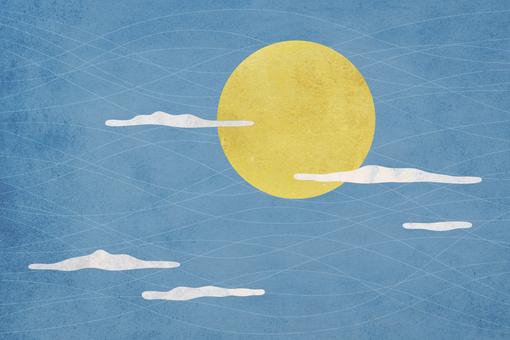 金色滿月_sky_background_texture
