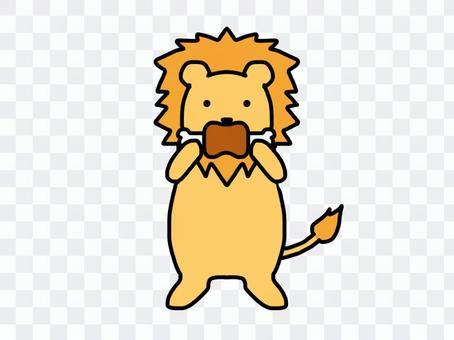 ライオン 肉