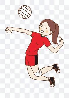 V聯賽女排球員