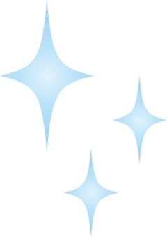 淺藍色閃閃發光