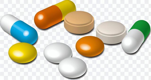 薬   カプセル   錠剤