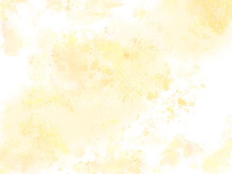 黃色水彩背景