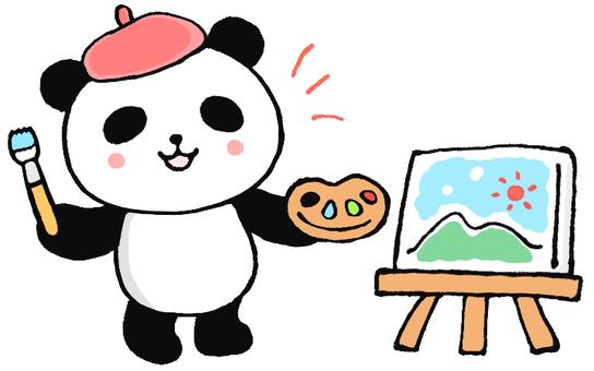 그림 그리기 팬더 씨 1