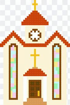 Church pixel art design