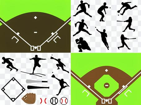 棒球材料收集