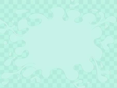 泡沫飛濺(藍色)