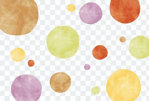秋天的圖像/秋天的波爾卡圓點