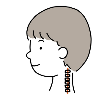 Straight neck