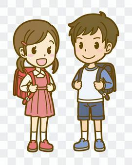 男人和女人(兒童):A_書包01FS