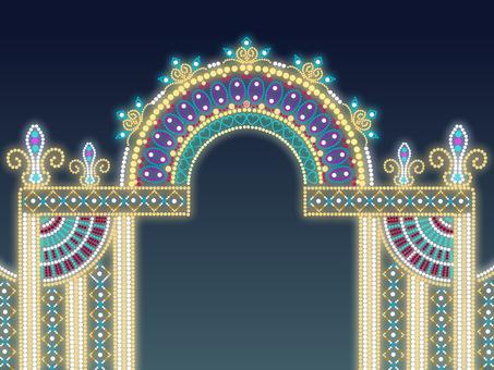 Illumination arch alone
