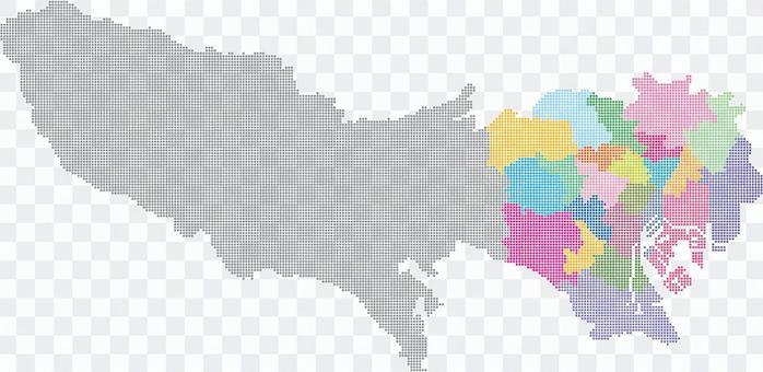 東京地圖_23師詳細信息_dot