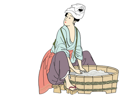 Edo period laundry