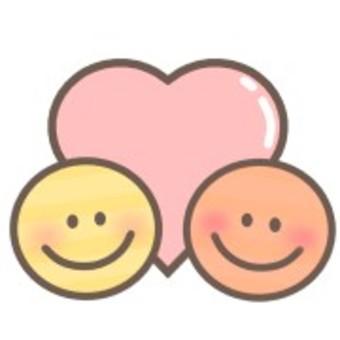 Smile heart smile face facial expression