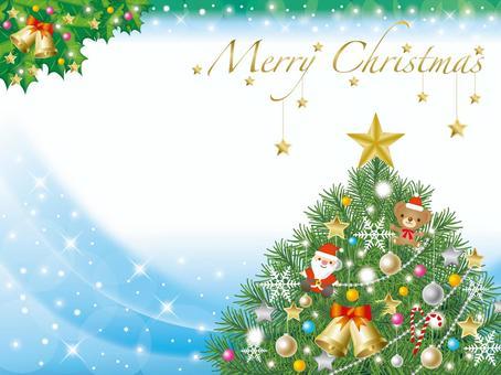 樹2中的聖誕賀卡