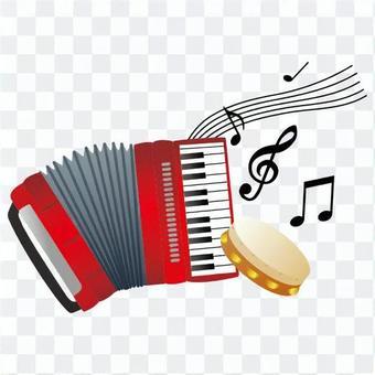 手風琴和手鼓
