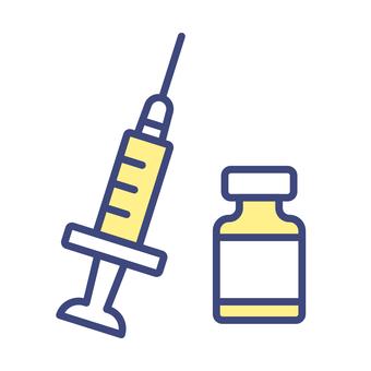 注射器和疫苗
