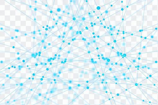 White network technology Abstract background material