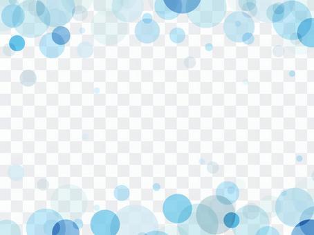 """泡沫模式框架""""藍色"""""""