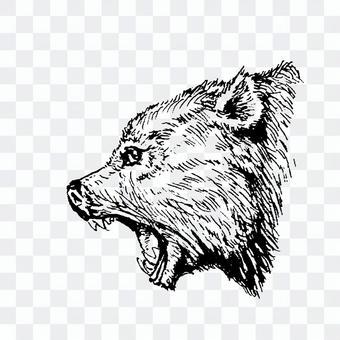 刷筆吠叫熊!