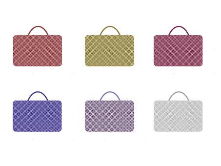 Origami pattern bag set