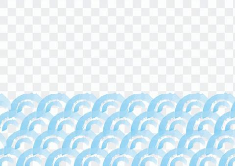 刷_圖案_波2 _淺藍色