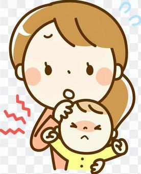 一個壞孩子和媽媽
