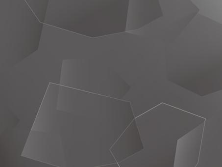 背景多邊形2灰色
