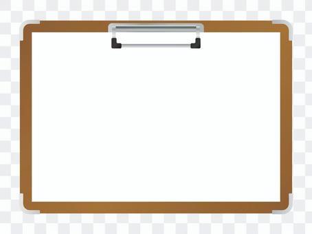 剪貼板框架(橫向)