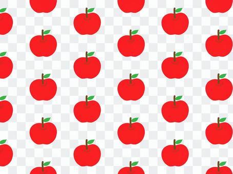 リンゴ パターン