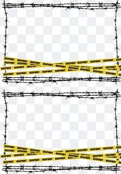 鐵絲網和保持帶框架