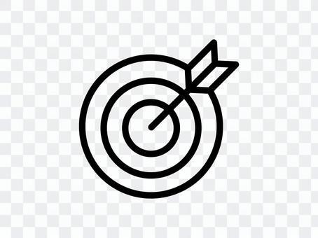 目標和箭頭圖標