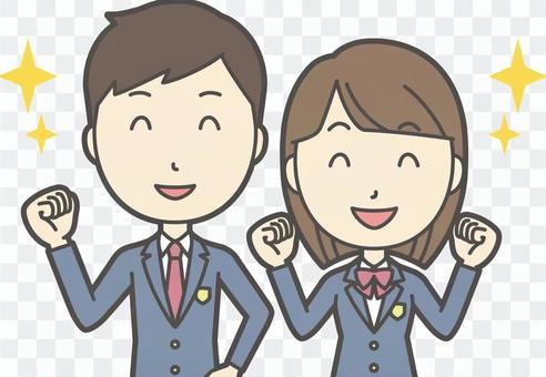 高校生男女セット-017-バスト
