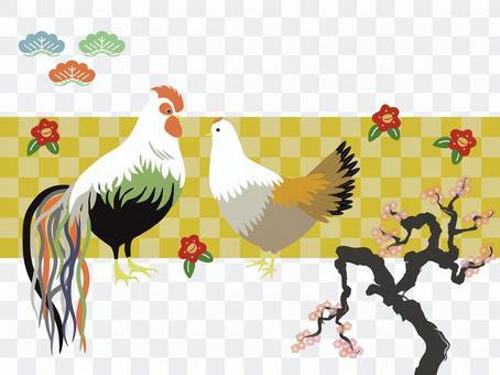 Oga chicken and plum tree 3