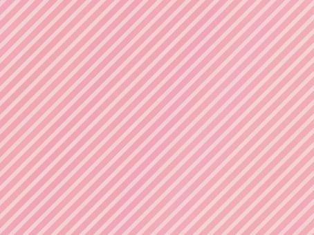粉紅色的條紋對角線