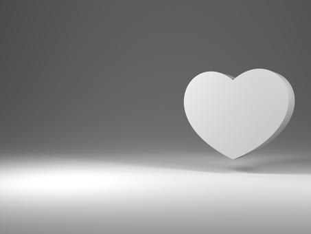 Heart mark (3D illustration)