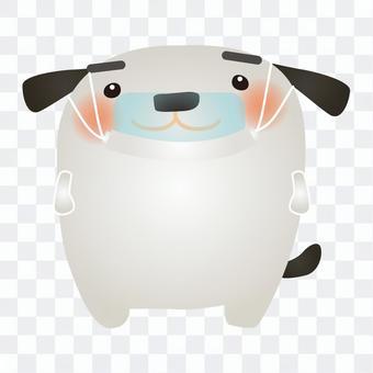 白狗鼠標盾
