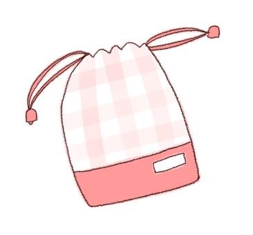 Drawstring purse 2 (color)