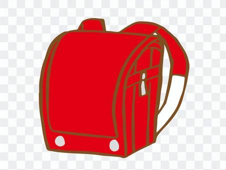 書包(紅色)