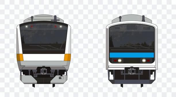 JRE233系電車・209系電車